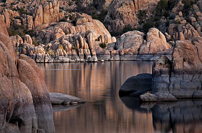 Granite Reflections Poster by Mark Baldwin