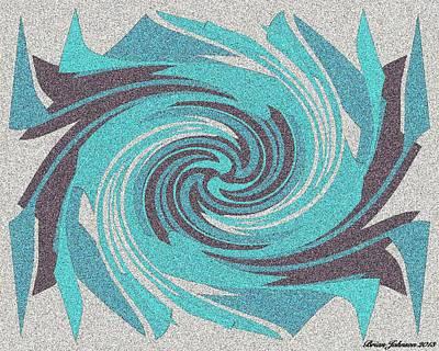Granite Tile 1 Poster by Brian Johnson