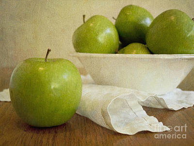Granny Smith Poster by Alison Sherrow