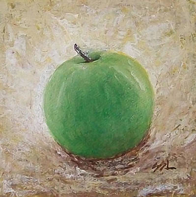 Poster featuring the painting Granny Smith by Jane  See