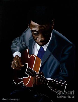 Grant Green Poster by Barbara McMahon