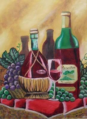 Grape Convination Poster by Miguel Angel Sanchez