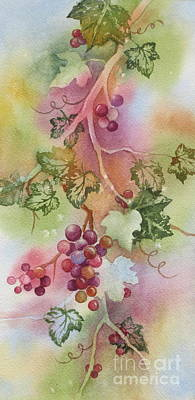 Grapevine Poster by Deborah Ronglien