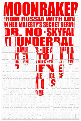 Graphic Bond 2 Poster