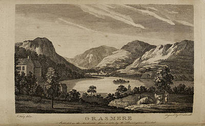 Grasmere In The Lake District Poster by British Library
