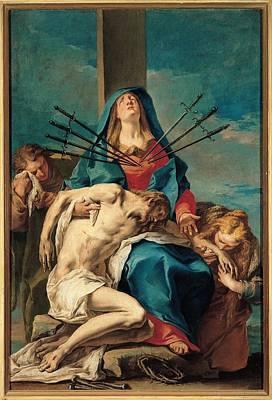 Grassi Nicola, Piet , 1731 - 1731, 18th Poster by Everett