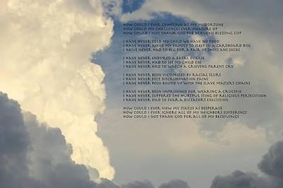 Grateful Skies Poster