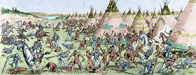 Grattan Massacre, 1854 Poster
