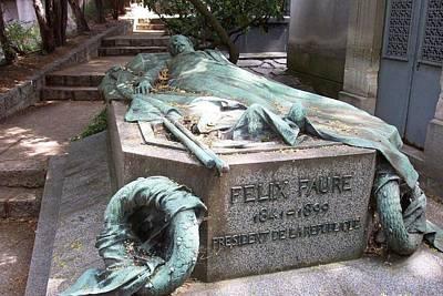 Grave Of Felix Faure  Poster
