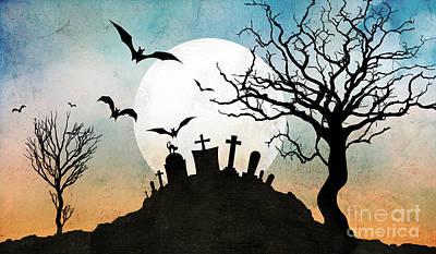 Graveyard Hill Poster by Bedros Awak