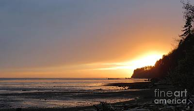 Grays Harbor Sunset II Poster