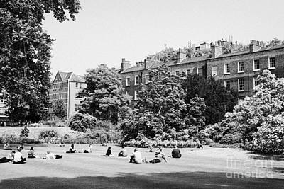 grays inn field and gardens London England UK Poster by Joe Fox