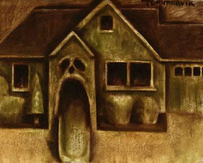 Grayskull House Art Poster