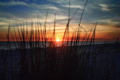 Grayton Beach Sunset 3 Poster