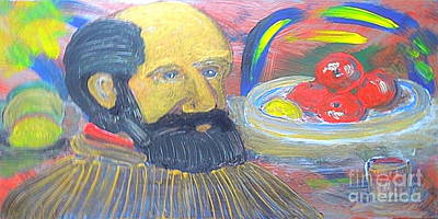 Great Artist Cezanne 1 Poster by Richard W Linford