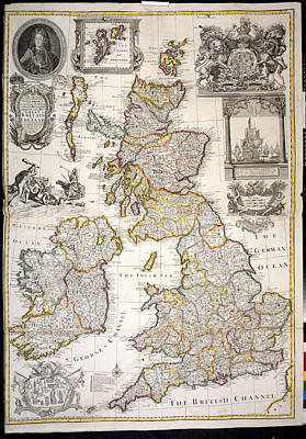 Great Britain And Ireland Poster by British Library