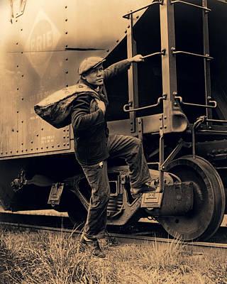 Great Depression Mass Transit  1935 Poster
