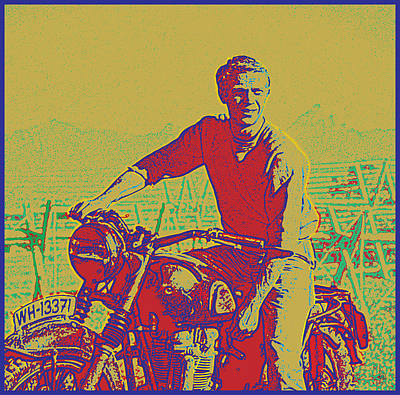 Great Escape Poster by Gary Grayson