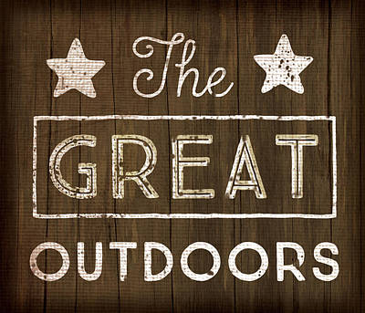 Great Outdoors Poster by Jennifer Pugh
