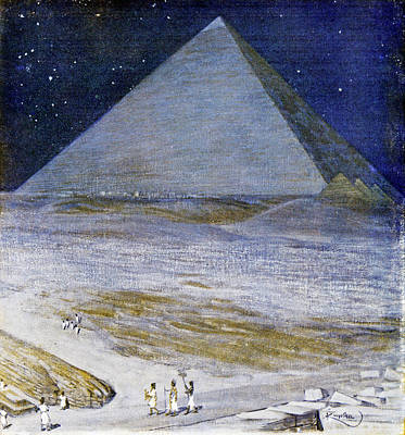 Great Pyramid Of Giza Poster by Cci Archives