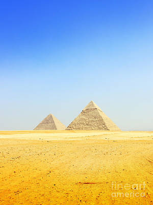Great Pyramid Of Giza Poster by Mohamed Elkhamisy