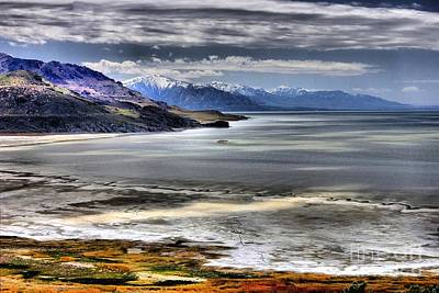 Great Salt Lake From Antelope Island Poster