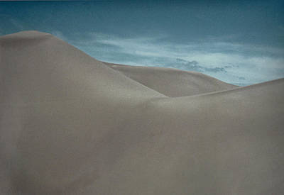 Poster featuring the photograph Great Sand Dunes by Don Schwartz