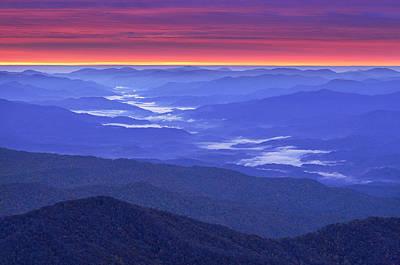 Great Smokey Mountains Poster by Christian Heeb