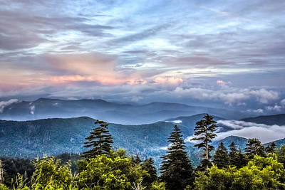 Poster featuring the photograph Great Smoky Mountains by Rob Sellers