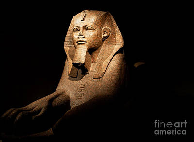 Great Sphinx Of Tanis Poster