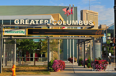 D8l-245 Greater Columbus Convention Center Photo Poster