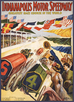 Greatest Race Course In The World Poster
