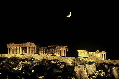 Greece, Athens, Acropolis Poster by Jaynes Gallery