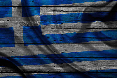 Greece Poster by Joe Hamilton