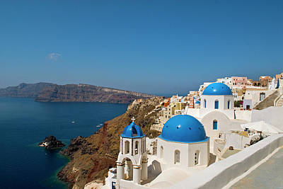 Greece, Santorini Poster