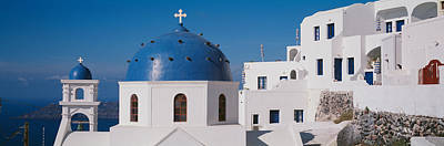 Greece, Santorini, Fira, Church Poster by Panoramic Images