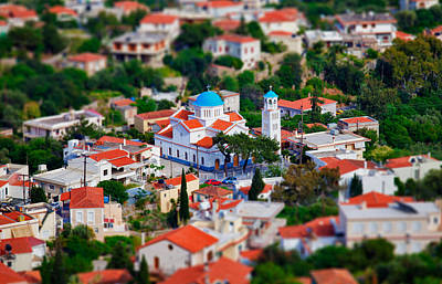 Greek Church - Agios Markos Poster