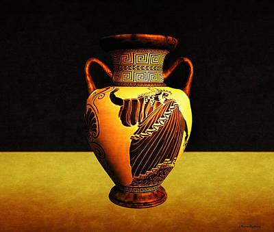 Greek Vase Poster