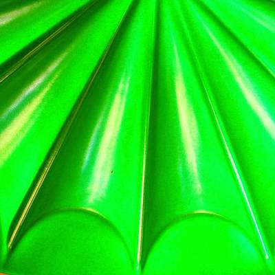 Green Abstract Poster by Christy Beckwith