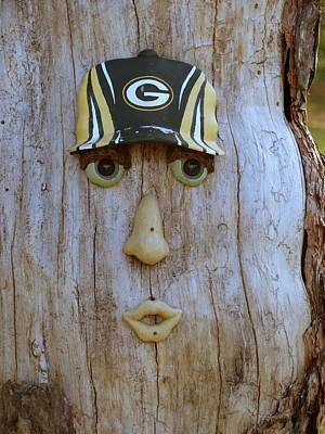 Green Bay Packer Humor Poster by Kay Novy