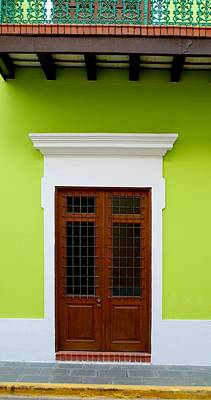 Green Facade Poster