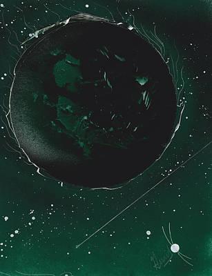 Green Galaxies Poster