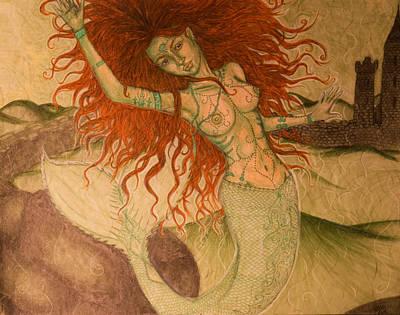 Green Moss Kingdom Poster by Baruska A Michalcikova
