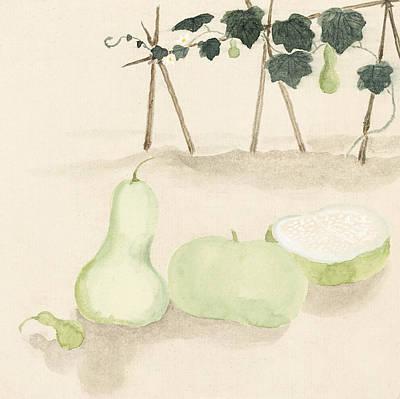 Green Squash Poster
