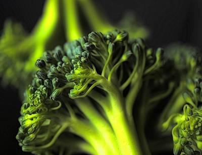 Green Vegetables Poster by Jenny Hudson