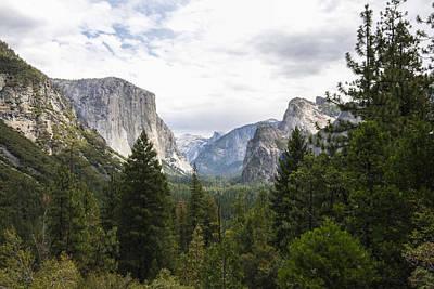 Green Yosemite Valley Poster