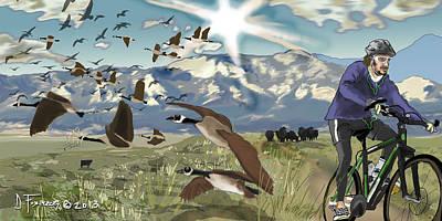 Greenbelt Plateau Boulder Co Poster
