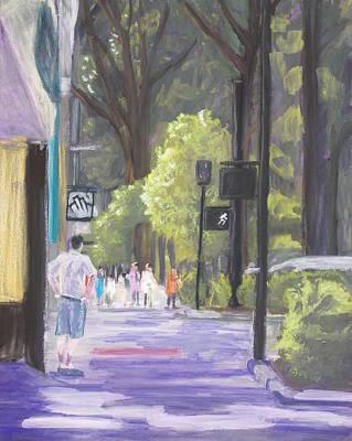 Greenville Street Scene Poster by Robert Decker