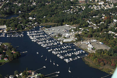 Greenwich Bay Marina, Warwick Poster by Dave Cleaveland