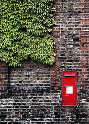 Greenwich Post Box Poster by Mark Rogan
